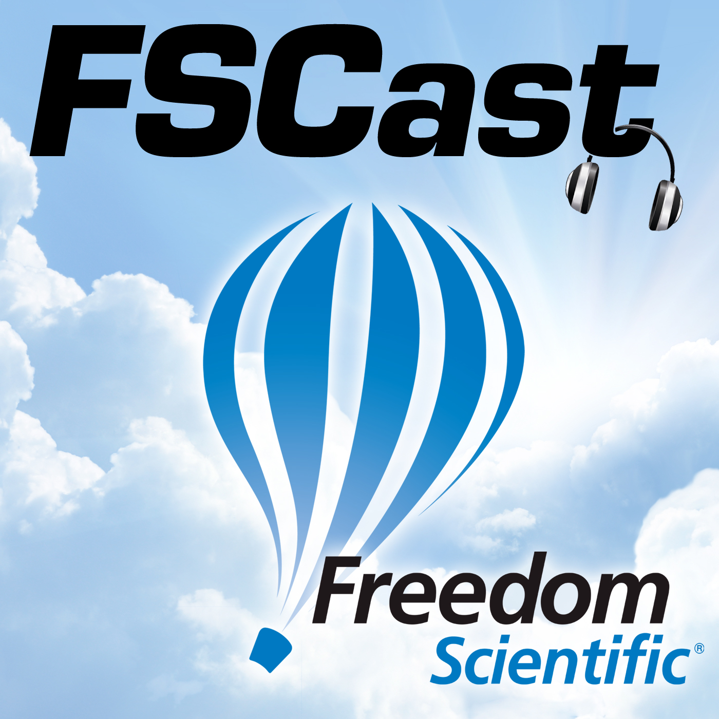 Freedom Scientific FSCast logo
