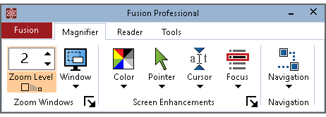 Fusion user interface