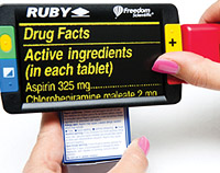 The RUBY magnifying prescription details