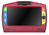 Front view of the RUBY 7 HD