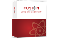 Fusion software product box