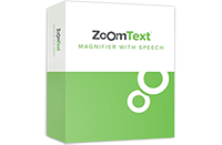 ZoomText Magnifier/Reader product box